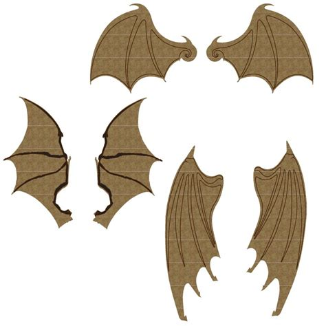 Bat Set by Bat Wing Set 1