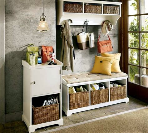 Ikea Spice Rack For Books Storage Bench In The Hallway 20 Ideas For Hallway Space