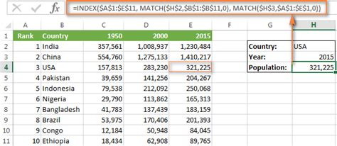 How To Search For On Match Excel Index Match Function Instead Of Vlookup Formula Exles