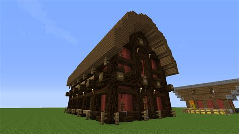 scheune in minecraft do you like this barn i built survival mode minecraft