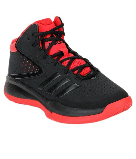 sport boots c 6 off on adidas black basketball sport shoes on snapdeal