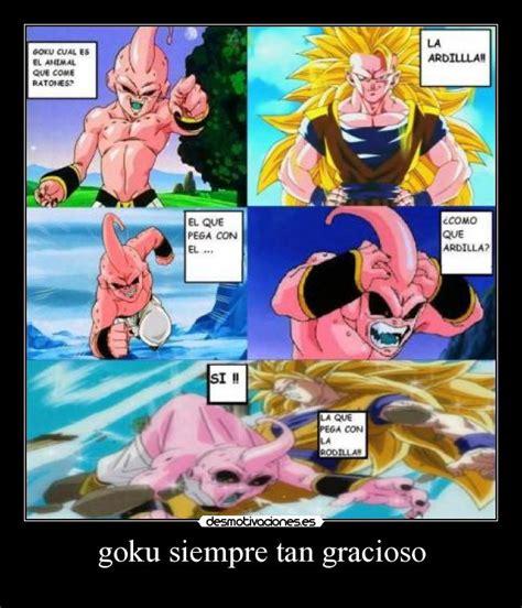 Imagenes De Goku Graciosas Para Facebook | goku siempre tan gracioso desmotivaciones