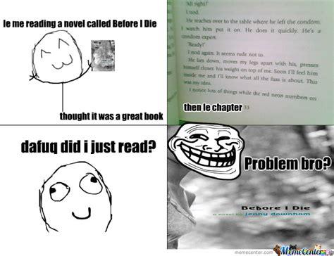 Reading Book Meme - le me reading a book by d 1109 meme center