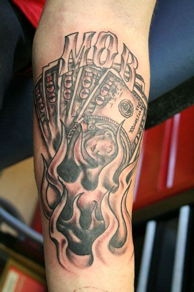 burning money tattoos designs 18 best images about ideas on