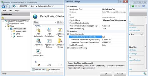 tutorial on web config in asp net net what is the difference between web config timeout