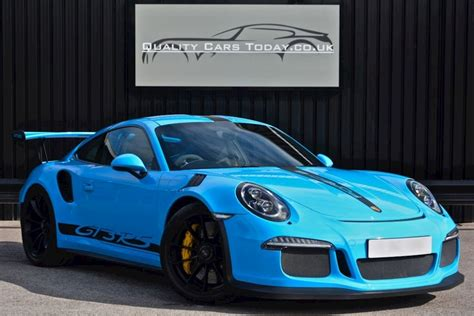 Porsche Gt3 Gebraucht by Used Porsche 911 Gt3 Rs 4 0 Porsche To Sle Mexico Blue