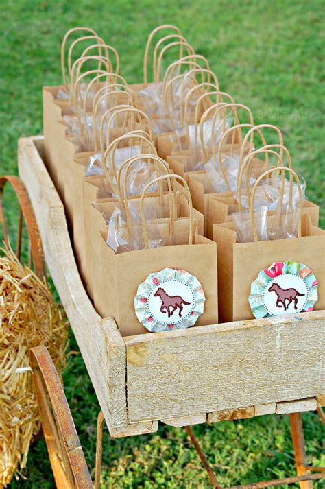 Party Giveaways - the vintage horse show collection mary had a little party
