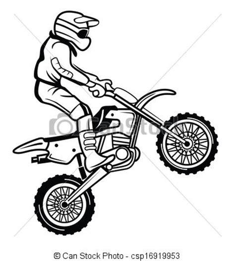 clipart vector moto cross csp16919953 clip art illustration drawings vector