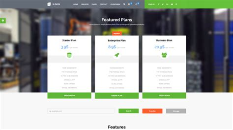 whmcs hosting templates x data wmhcs web hosting template whmcs marketplace