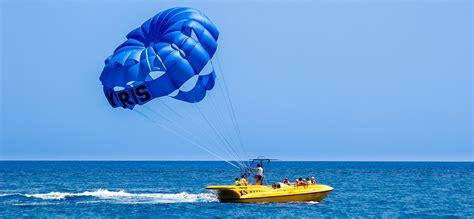 boat parachute parasailing u crnoj gori let sa padobranom iza glisera