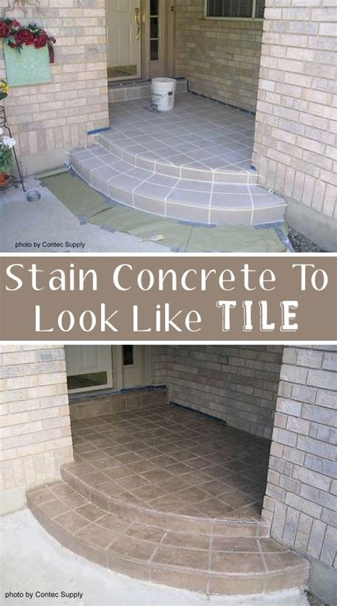 how to stain concrete diy home improvement make your 17 easy and cheap curb appeal ideas anyone can do curb