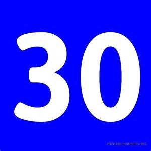 Printable Number Printable Numbers 1 50 Blue Printable Numbers Org