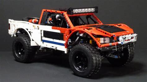 baja trophy moc baja trophy truck with sbrick technic