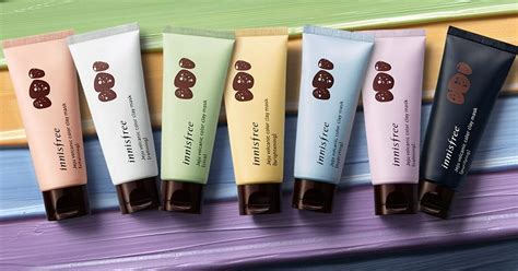 Innisfree Color Clay Mask 1 review n蘯キt n蘯 innisfree volcanic color clay l 224 m 苟蘯ケp cho