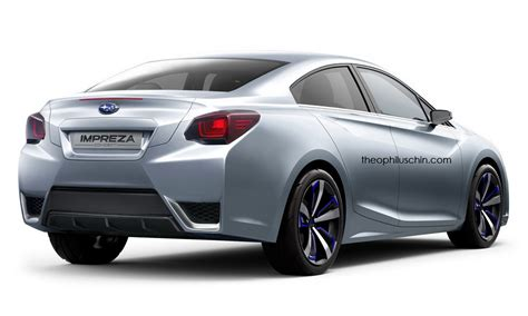 subaru concept subaru impreza sedan concept may look like this