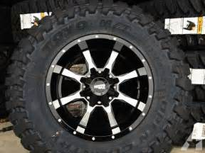 Commercial Truck Tires Nh Moto Metal 962 961 Truck Rims With 35 33 Toyo Mud Tires