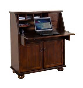 Laptop Armoire sd 2939dc santa fe drop leaf laptop desk armoire oak