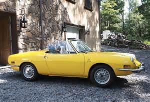 Fiat 850 Spyder For Sale Never This 1973 Fiat 850 Spider Bring A Trailer