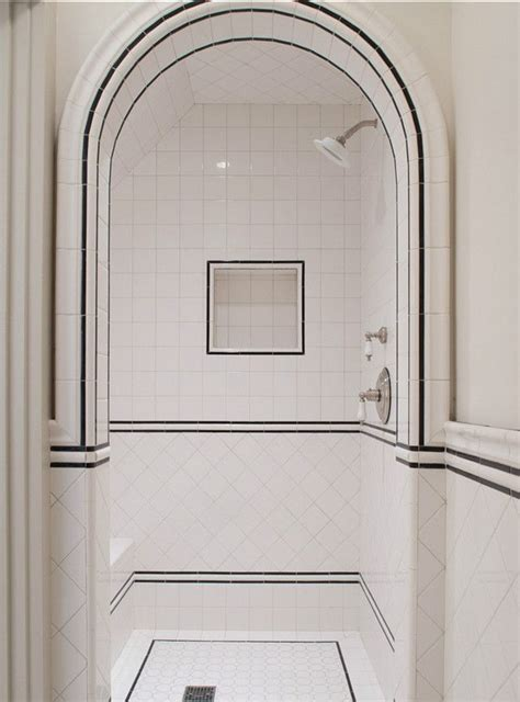 tile moldings  arches add definition