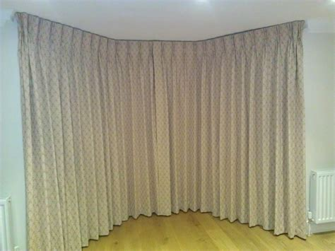 bay window blackout curtains highgate n6 fabric covered facia in bay window k k curtains