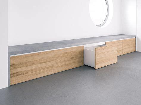 sitzbank flur stauraum beton sitzbank covo mit integriertem stauraum f 252 r den flur