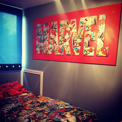 marvel heroes bedroom ideas can t wait to make something like this for a christmas