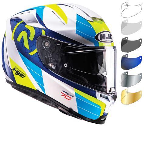 Sticker Visor Helm Hjc hjc rpha 70 lif motorcycle helmet visor helmets ghostbikes