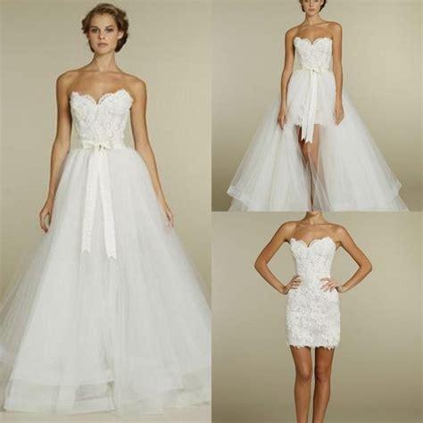2in1 Unique discount multipurpose 2 in 1 popular 2015 wedding dresses