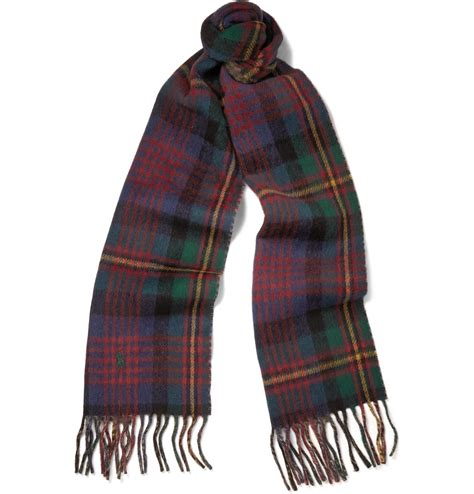 polo ralph reversible woolblend scarf in for