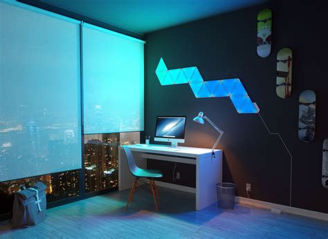 smart lights with nanoleaf review the coolest smart lighting around