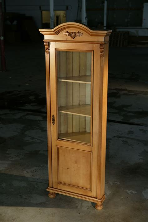 white corner cabinet with doors crafted european corner cabinet with glass door golden brown finish with snow white