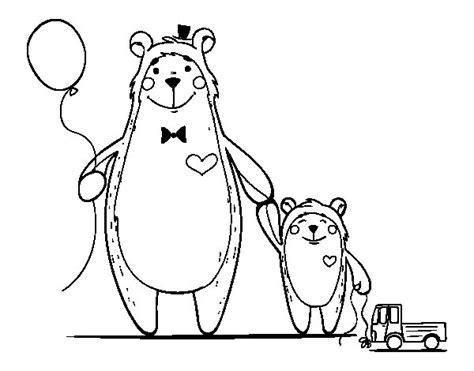 imagenes para pintar oso dibujo de oso y osito para colorear dibujos net