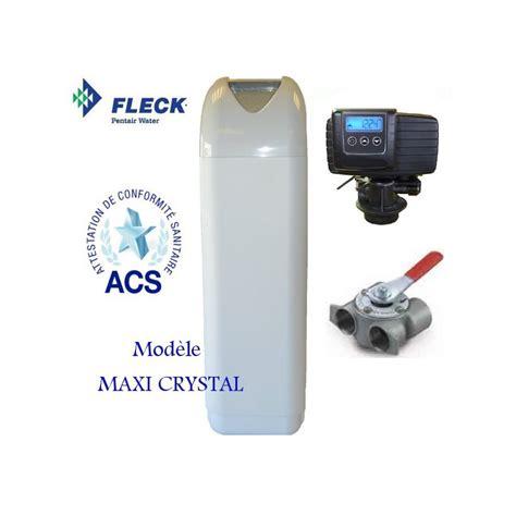 Maxi Cristal adoucisseur d eau monobloc maxi fleck 5600 sxt