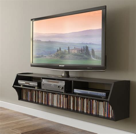 collection  flat screen shelving