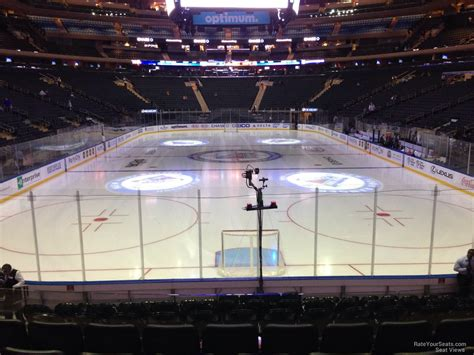 section 102 a madison square garden section 102 new york rangers