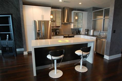 Kitchen Cabinet Island Ideas Modern Contemporary Bachelor Pad Contemporary Kitchen