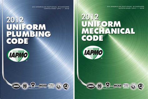 Iapmo Plumbing Code by Iapmo To Release 2012 Codes On March 1