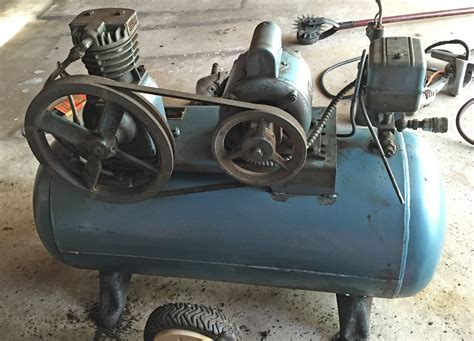 with vintage air compressor i was given tools diy chatroom home improvement forum