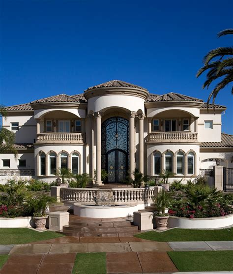 columns for homes iron entry doors exterior mediterranean with columns custom home dome beeyoutifullife com