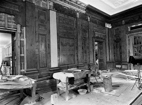 white house renovation photos when president truman utterly gutted the white house
