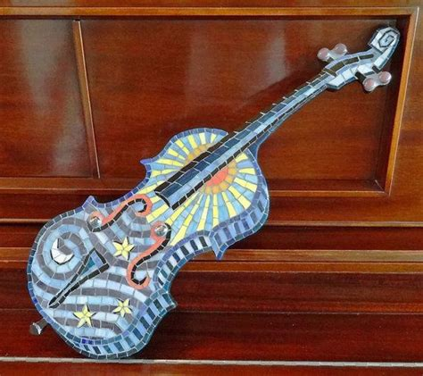 mosaic violin pattern 24 best images about violin craft ideas on pinterest