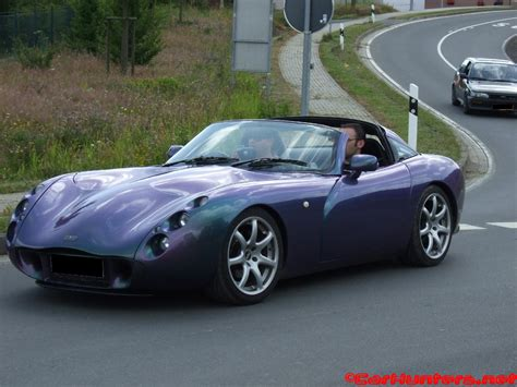 Tvr Automobile Tvr S Scamander Drives On Roads Fields And Through Water
