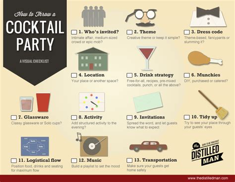 how to plan a party at home how to plan a perfect cocktail party the distilled man