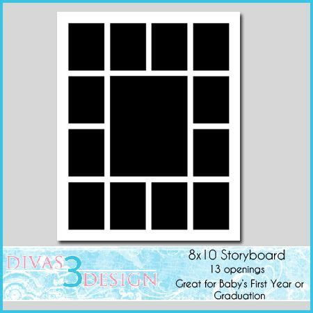 8x10 photo collage template the world s catalog of ideas