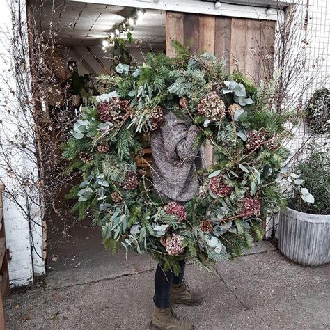 making  wreath large christmas wreath holiday wreaths