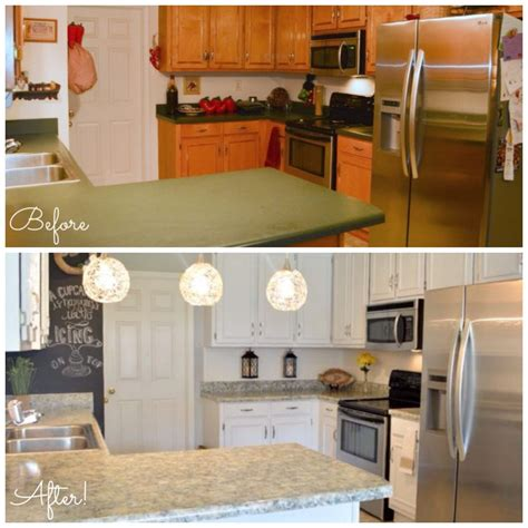 Antiquing White Kitchen Cabinets by Gallery Before And After