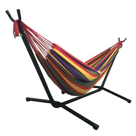 double hammock swing chair outdoor swing chair double hammock with steel stand