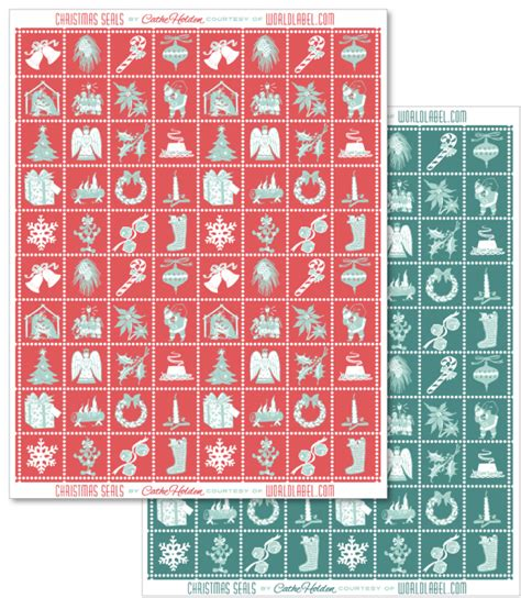 printable envelope seals christmas envelope seals gift seals and labels