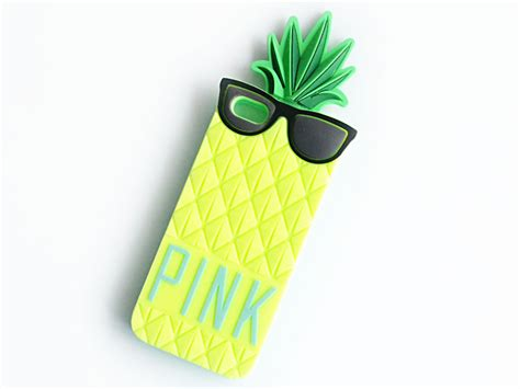 Pink Pineapple Silicone Softcase Apple Iphone 55s phone acessories www laptopbattery fan co uk shop of laptop battery laptop cpu fan