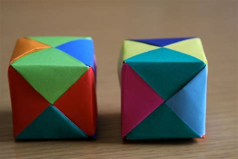 How To Make Paper Cubes - help kori origami cube tutorial